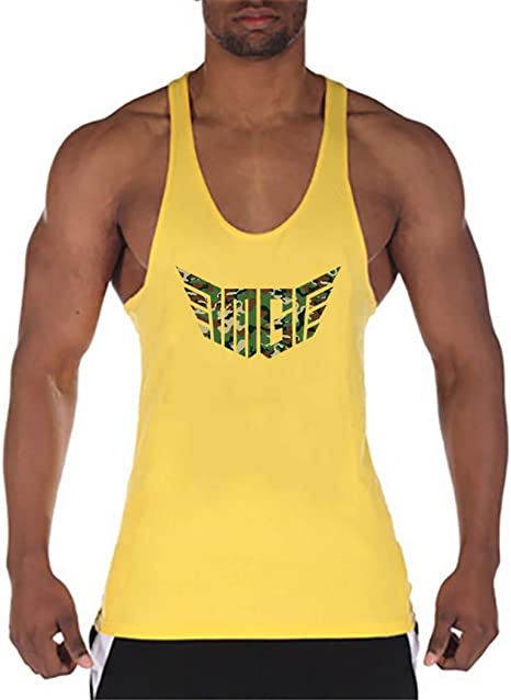 Camisa Camiseta Hombre Tirantes Culturismo Fitness Ropa Deporte Masculina para Entrenar Sport Vest: Amazon.es: Deportes y aire libre