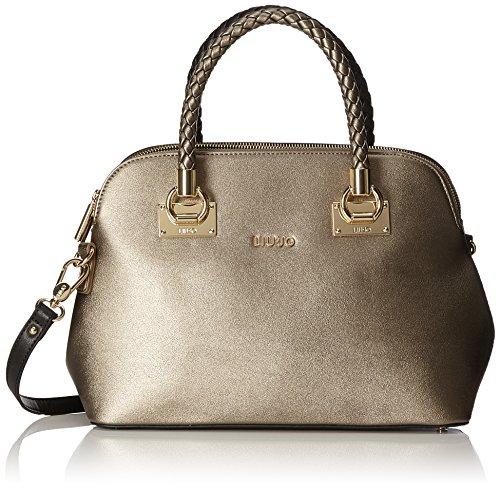 scompartimenti shopping 2018 colore bronzo LIU nero nuova JO autunno collezione Borsa n2 inverno 2017 wapIfZq