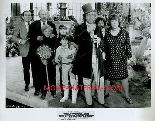 Gene Wilder Willy Wonka And The Chocolate Factory 8x10