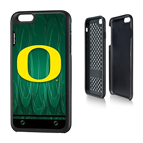 Oregon Ducks iPhone 6 Plus & iPhone 6s Plus Rugged Case officially licensed by the University of Oregon for the Apple iPhone 6 Plus by keyscaper® Durable Two Layer Protection Shock Absorbing (Ducks Cover Phone Oregon)