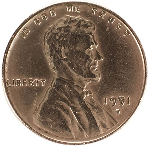 1951 D Lincoln Wheat Penny Good