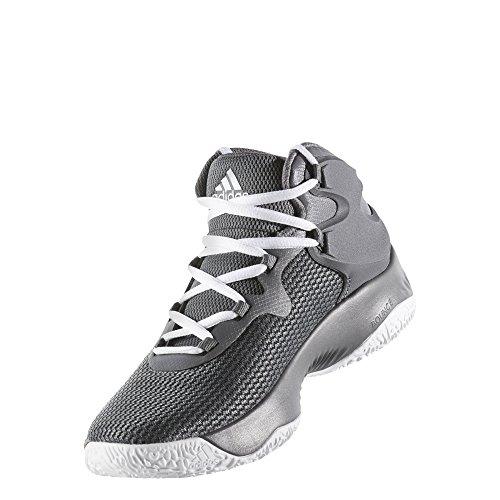 adidas Explosive Bounce J, Zapatillas de Deporte Unisex Niños Gris (Gricua / Plamet / Gricin)