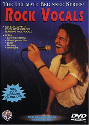 Ultimate Beginner Rock Vocals: Steps One & Two (DVD)