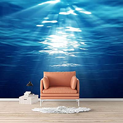 Wall Mural Blue Ocean Deep Sea Removable, Made to Last, Dazzling Piece