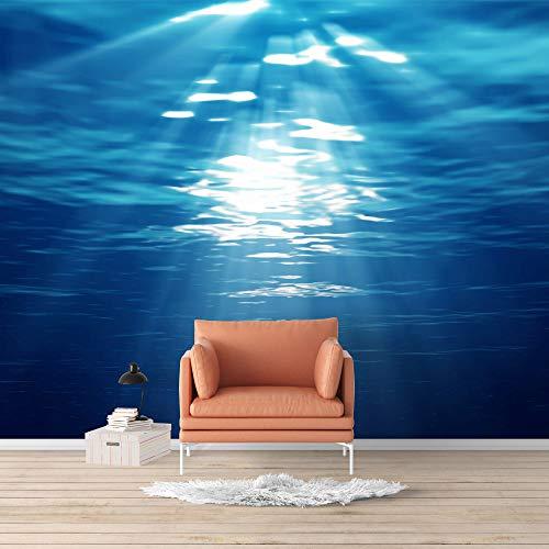 Wall Mural Blue Ocean Deep Sea Removable