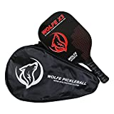 Wolfe X3 3K Carbon Fiber and Graphite - Edged Pickleball Paddle
