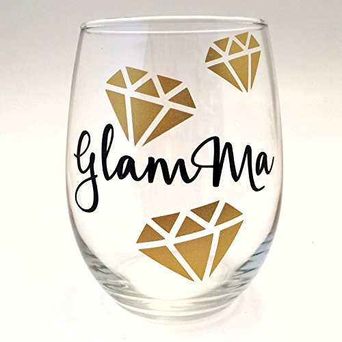 GlamMa Stemless Wine Glass