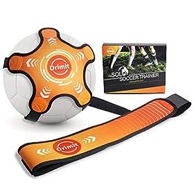 Orimit Solo Soccer Training Equipment, Hands Free Kick Trainer