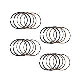 AHL STD 65.5mm Piston Rings for Yamaha YZF-R6 YZF R6 1999-2002 (4 Sets)