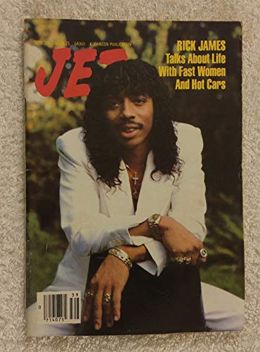 Rick James Talks about Life with Fast Women & Hot Cars - Jet Magazine - September 26, 1983