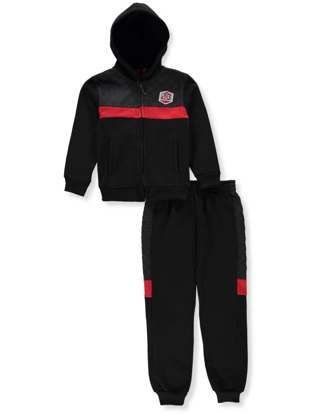 Alura Quad Seven Boys' 2-Piece Sweatsuit Pants Set