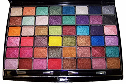 - cosmetics 48 Color Makeup Eye Shadow Palette Matte Shimmer Eye Shadow (CosB649 Z)