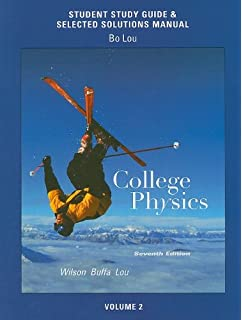 Amazon physics 9780130484598 jerry d wilson anthony j study guide and selected solutions manual for college physics volume 2 fandeluxe Images