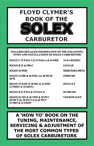 Floyd Clymer's Book of the Solex Carburetor