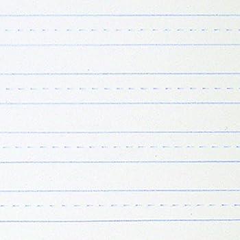 School Smart 16 Lb Sulphite Skip A Line Paper   10 1/2 X 8  Double Lined Paper
