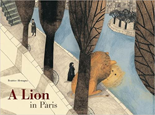 Image result for a lion in paris book