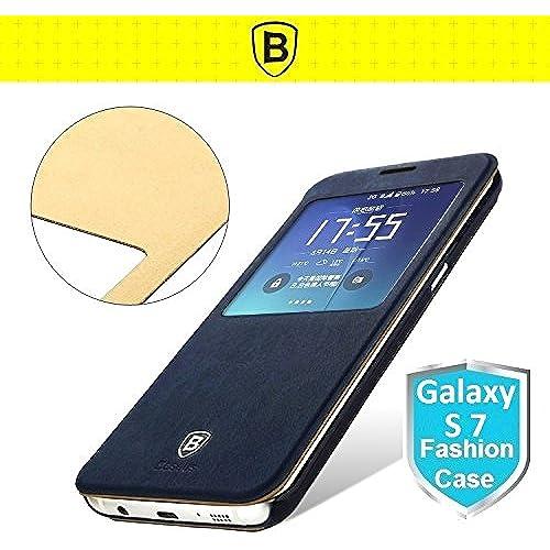 Neo Generation Baseus Samsung Galaxy S7 G9300 and Galaxy S7 Edge Flip Case (Galaxy S7 - Navy) Sales