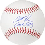 Charlie Blackmon Colorado Rockies Autographed Baseball with Chuck Nazty Inscription - Fanatics Authentic Certified