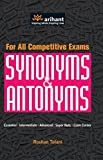 For All competitive Exams Synonyms & Antonyms Essential|Intermediate|Advanced Super Nuts Exam corner