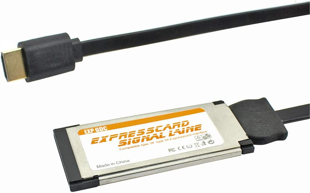 JMT EXP GDC Expresscard Graphics Signal Line Compatible Type 34/54 Interface for External Independent Video Card Graphics Dock