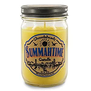 Chowdaheadz Summahtime Candle 100% Soy, All Natural, Made In The USA