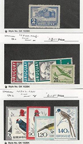 Uruguay, Postage Stamp, C113, C203-6, C247-51 Mint NH & LH, 1945-62 Bird (Mint Uruguay)