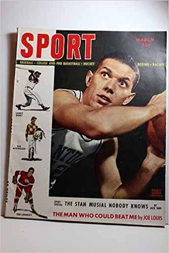 Sport Magazine August 1948 Articles What S Unsual About Musial
