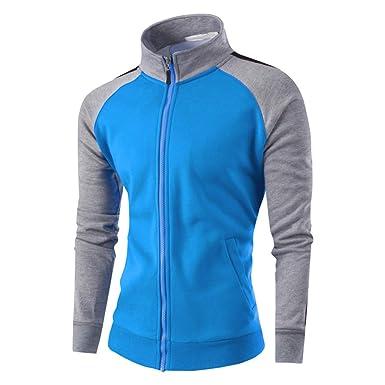 c983f159efeda1 MAYOGO Hoodie Herren Herbst Winter Langarm Sweatshirts Coats Hoodie Herren  Fussball Outwear Jacke Outdoorjacke  Amazon.de  Bekleidung