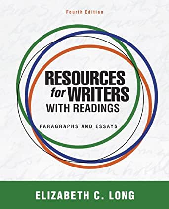 Resources for writers with readings kindle edition by elizabeth.