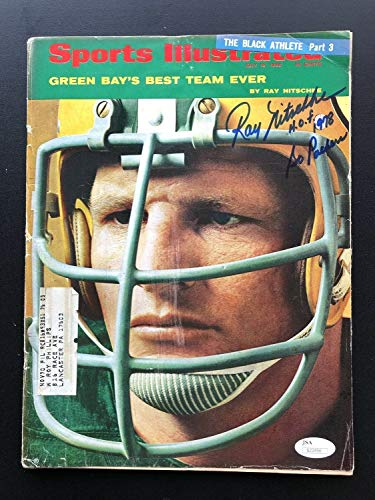 (Ray Nitschke Green Bay Packers Autographed Signed Autograph 1968 Sports Illustrated 7/15/68 JSA Authentic Rare)