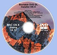 Bootable DVD DL for Mac OS X 10.12 Sierra Full OS Install Reinstall Recovery Upgrade