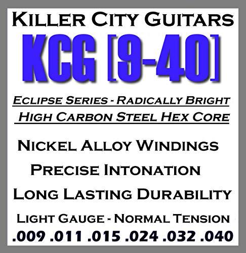 Killer City Guitars Eclipse Series Electric Guitar Strings - Light Gauge