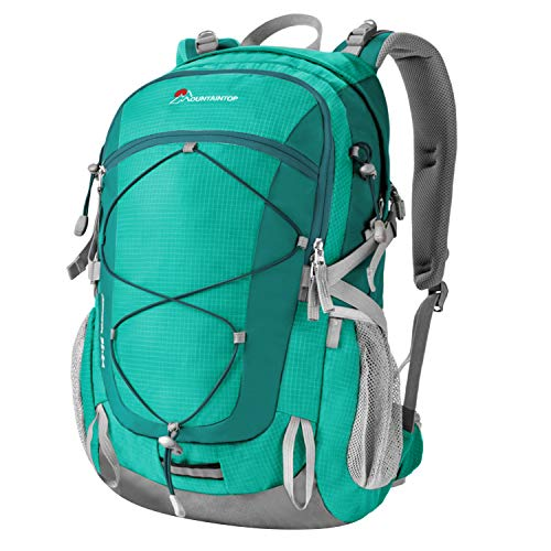 Mountaintop 40 Liter Unisex Hiking/Camping Backpack (Lake Green)