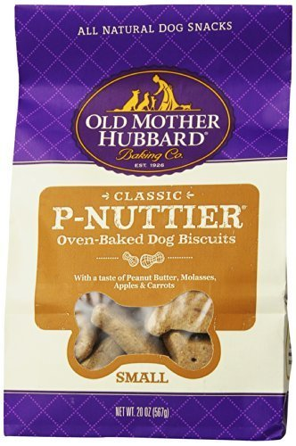 Cheap Old Mother Hubbard Crunchy Classic Snacks for Dogs, Small P-Nuttier, 20-Ounce Bag by WellPet LLC