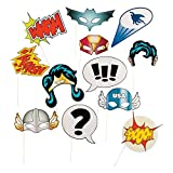 Fun Express 13659365 Super Hero Stick Costume Props