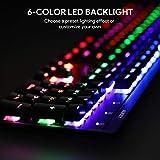 AUKEY Mechanical Keyboard LED Backlit Gaming