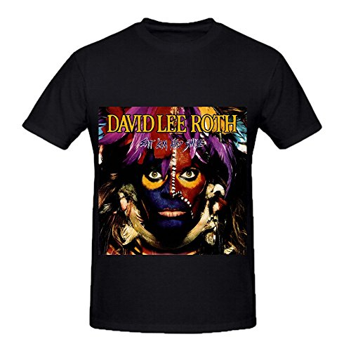 david-lee-roth-eat-em-and-smile-soul-mens-crew-neck-funny-t-shirts-black