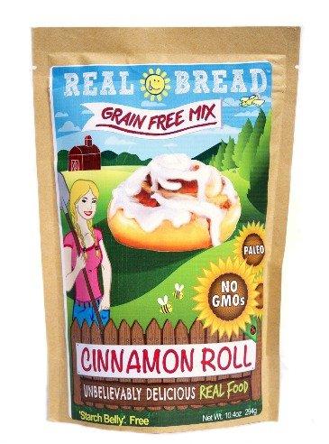 Paleo-Keto Friendly-Grain Free Cinnamon Roll Mix 10.2 oz (Best Paleo Cinnamon Rolls)