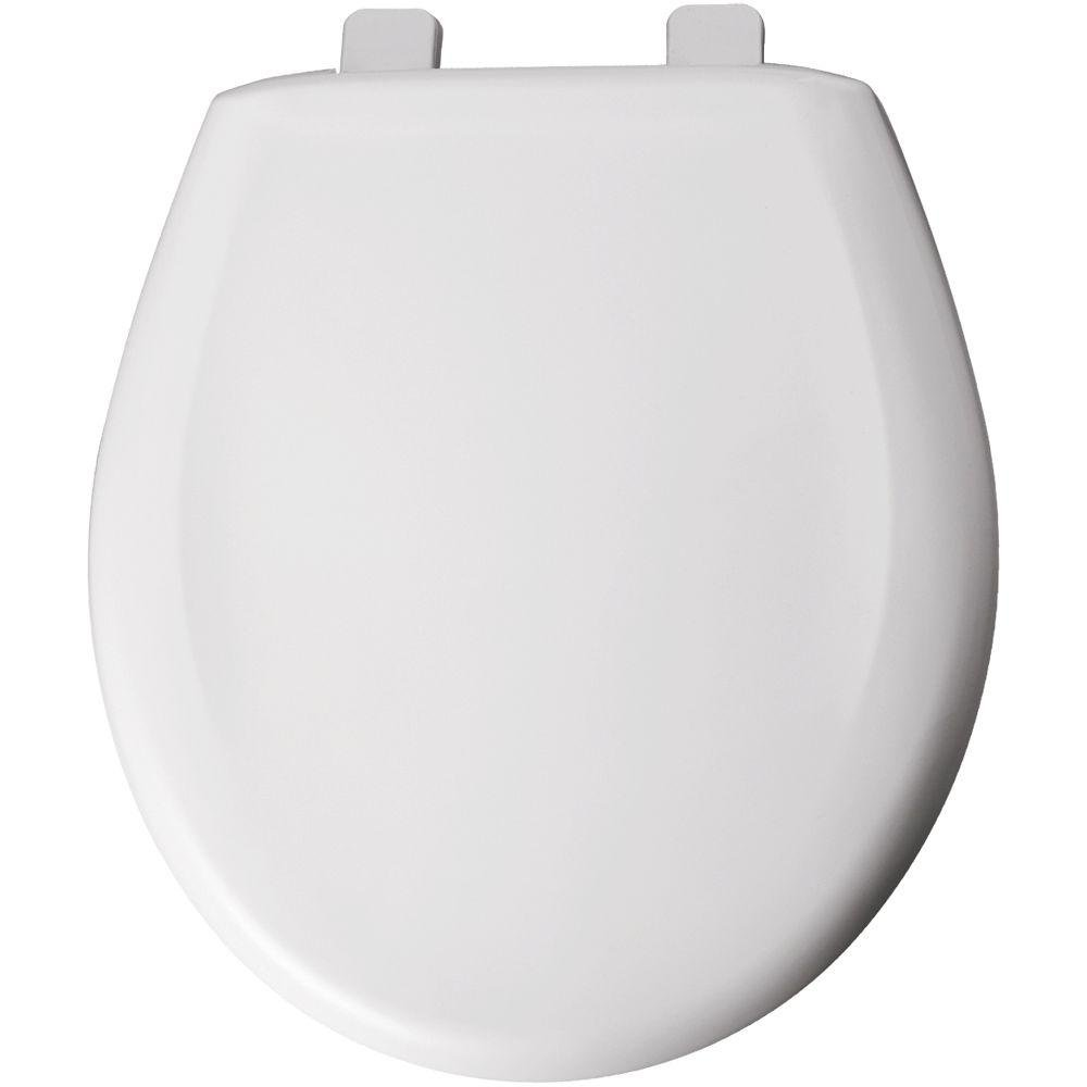 Bemis 200TCA 000 Round Closed Front Toilet Seat, White