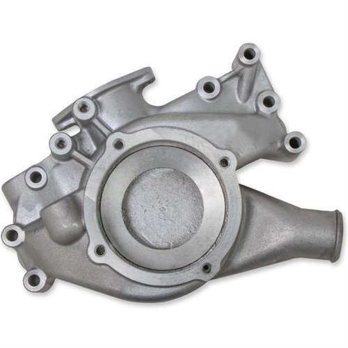 (Mr Gasket 70441G Cast Aluminum Water Pump Housing and Neck)