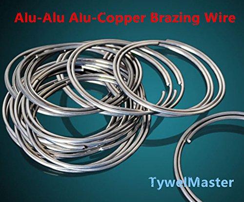 Refrigeration Accessories Aluminum-Aluminum Braze Welding Rod/Wire FLUX CORED WIRE Dia2.0mm Repairing Air-Condition Part (10pcs)