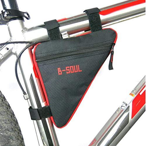 Saddlebag New - StoreDavid - Waterproof Triangle Cycling Bicycle Bags Front Tube Frame Bag Mountain Bike Triangle Pouch Frame Holder Saddle Bag New