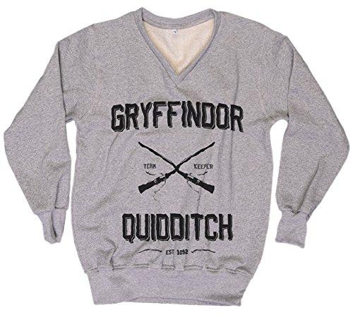 [Harry Potter Sweatshirt Harry Potter Sweater Gryffindor Quidditch Sweater Everytees Sweatshirt Womens Sweater Gift for Women] (Dobby Harry Potter Costumes)