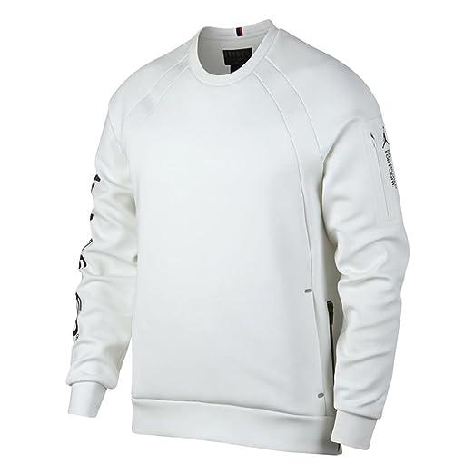 Nike Jordan Lifestyle Flight Tech Shield Men s Crew (Summit White, Medium) b7b415670c2c