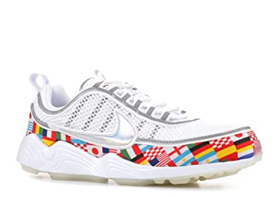 44fba3eaa33e2 Amazon.com | NIKE Men's Air Zoom Spiridon 16 NIC, White/Multi-Color ...