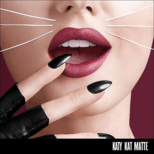 COVERGIRL Katy Kat Matte Lipstick Created by Katy Perry Perry Panther, .12 oz (packaging may vary)