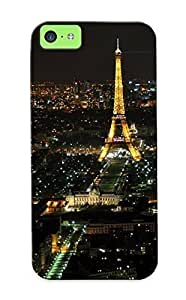 0595ac3303 Anti-scratch Case Cover Hotsummer Protective Eiffel Tower Paris Cityscapes Buildings Case For Iphone 5c