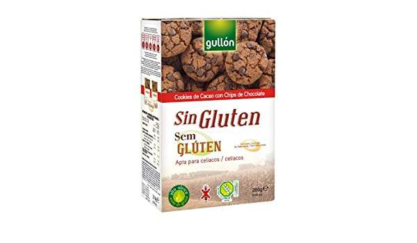 Gull?n Chocolate Chip Cookies, Gluten Free, 7.05-Ounce ...