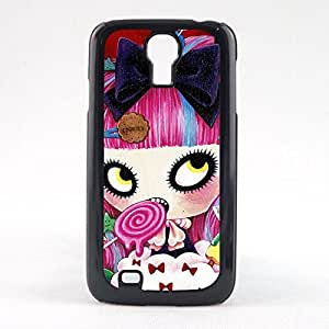 Case Fun Case Fun Sweet Girl Snap-on Hard Back Case Cover for Samsun Galaxy S4 Mini (I9190)
