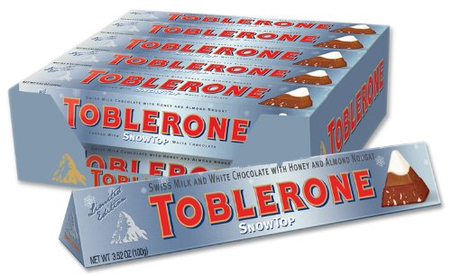 Toblerone Snowtop Chocolate Bar 100g (10-pack)